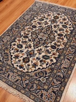فرش دستبافت کاشان _ابعاد:135*100