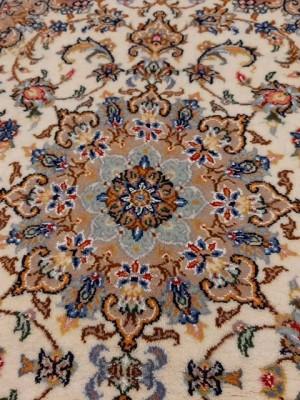 فرش دستبافت کاشان _ابعاد:223*100