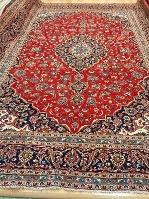 فرش دستبافت کاشان _ابعاد:420*300