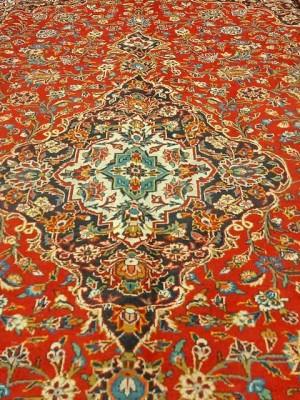فرش دستبافت کاشان _ابعاد:415*300