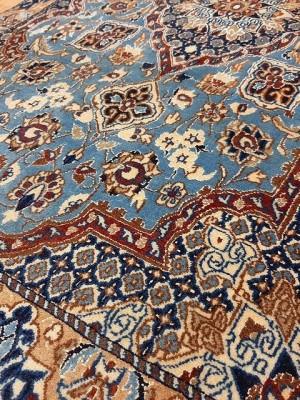فرش دستبافت نائین_ابعاد:145*95