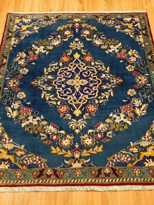 فرش دستبافت کاشمر_ابعاد:163*145