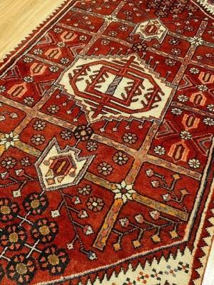 فرش دستبافت یاسوج_ابعاد:153*90
