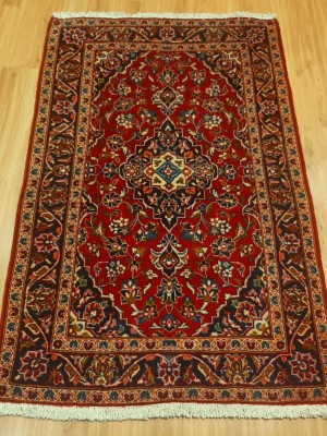 فرش دستبافت کاشان _ابعاد:155*96