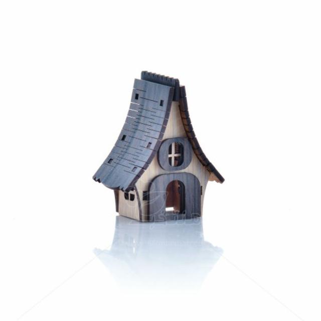 ماکت کلبه سقف فنری ارتفاع 6 سانتیمتر