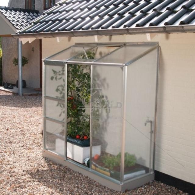 گلخانه خانگی یکطرفه مدل S12 ارتفاع 2.15 متر(طول 1.24)