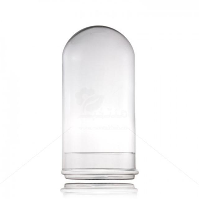 گلدان شیشه ای فلکسی ارتفاع 33 سانتی متر
