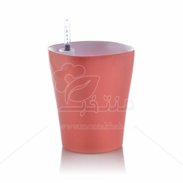 گلدان خود آبیار اتوماتیک گلوین ارتفاع 17.5 سانتیمتر