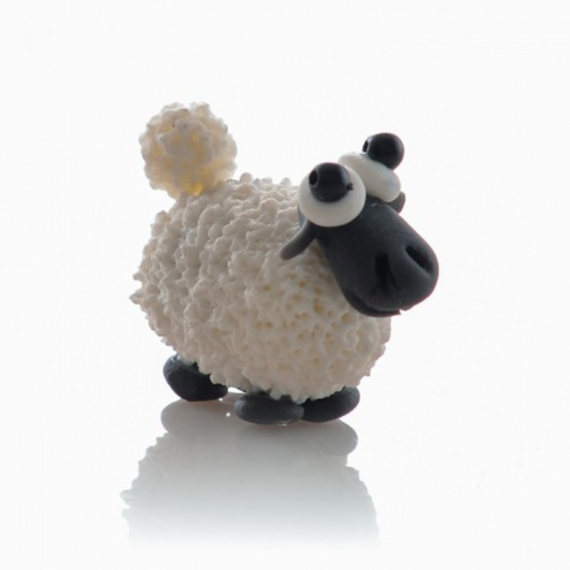 ماکت خمیری گوسفند ارتفاع 3 سانتی متر