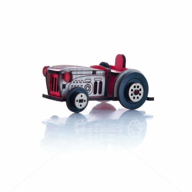 ماکت تراکتور ارتفاع 4 سانتیمتر