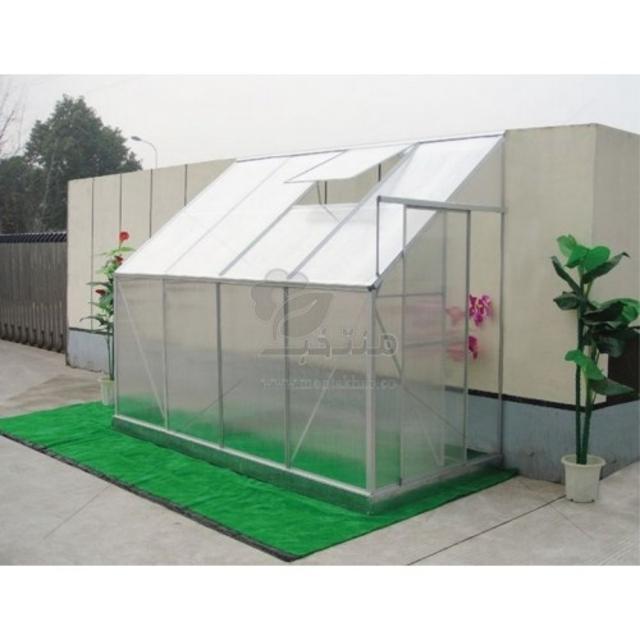 گلخانه خانگی یکطرفه مدل SL27 ارتفاع 2.2 متر(طول 4.34)