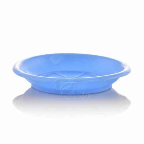 زیر گلدانی پلاستیکی گرد مدل ZA3 قطر 8.5 سانتیمتر