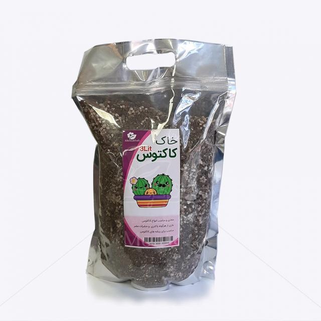 خاک مخصوص کاکتوس 3 لیتری