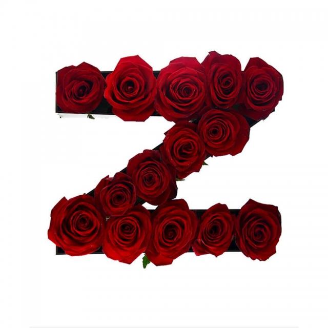 باکس گل حروف z