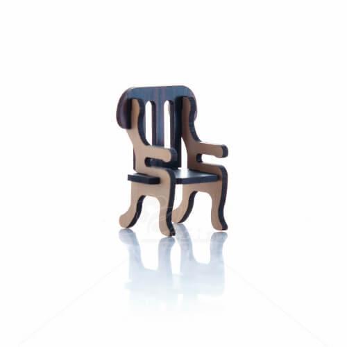 ماکت صندلی سلطنتی ارتفاع 5.5 سانتیمتر
