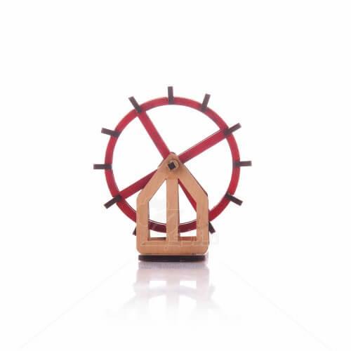 ماکت آسیاب چرخی ارتفاع 9سانتیمتر