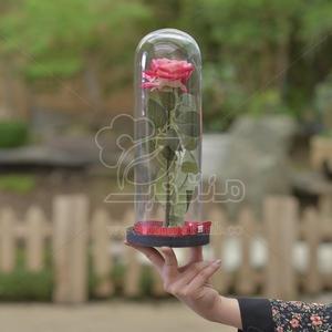 باکس گل مصنوعی طرح دیو و دلبر