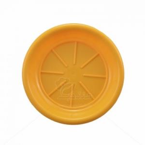 زیر گلدانی پلاستیکی دایره مدل ZA4 قطر 10.5 سانتی متر