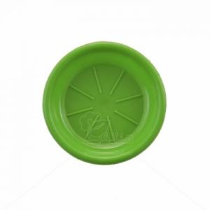 زیر گلدانی پلاستیکی گرد مدلZA1 قطر 8 سانتیمتر