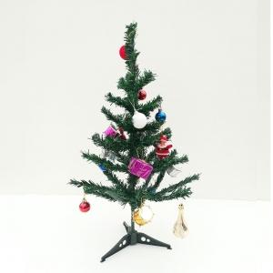 درخت کریسمس با تزیین ارتفاع 60 سانتی متر