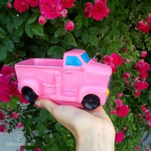گلدان پلی استر طرح کامیون