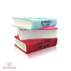 گلدان پلی استر طرح کتاب