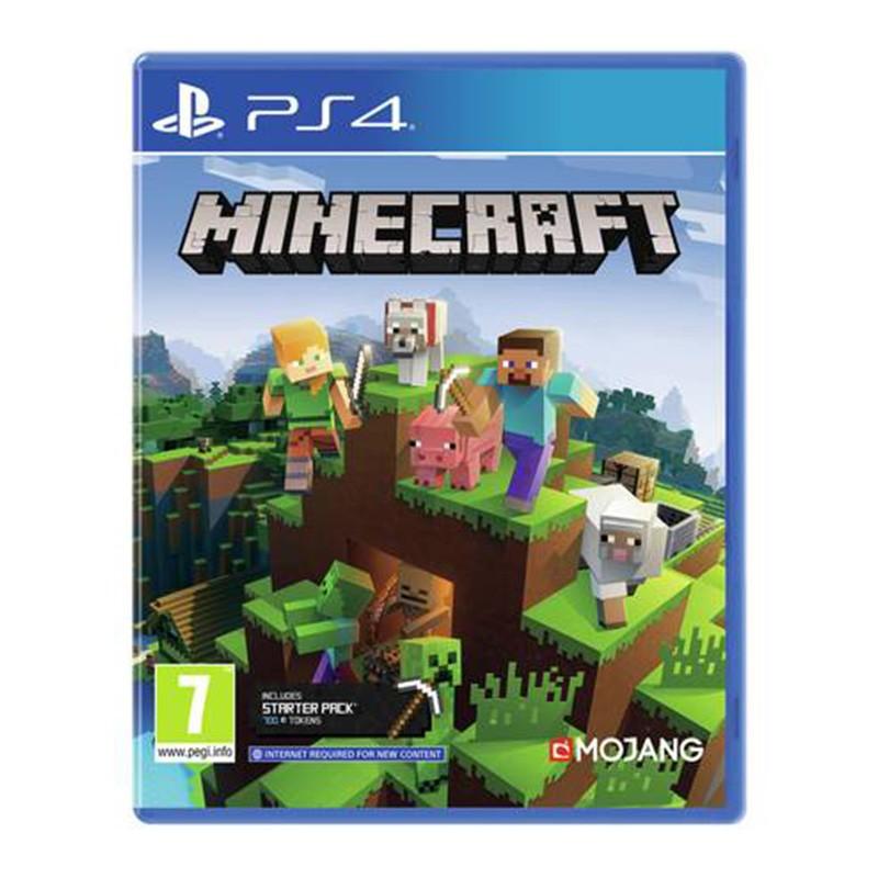 خرید بازی Minecraft Bedrock برای PS4