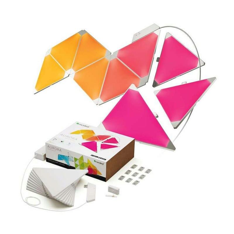 خرید کیت هوشمند روشنایی 9 تکه نانولیف مدل آرورا اسمارتر کیت