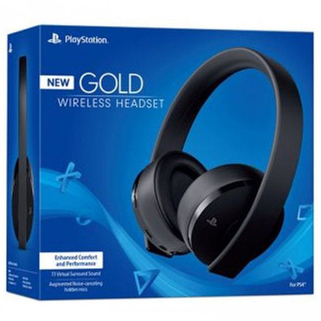 Playstation Gold Headset - New
