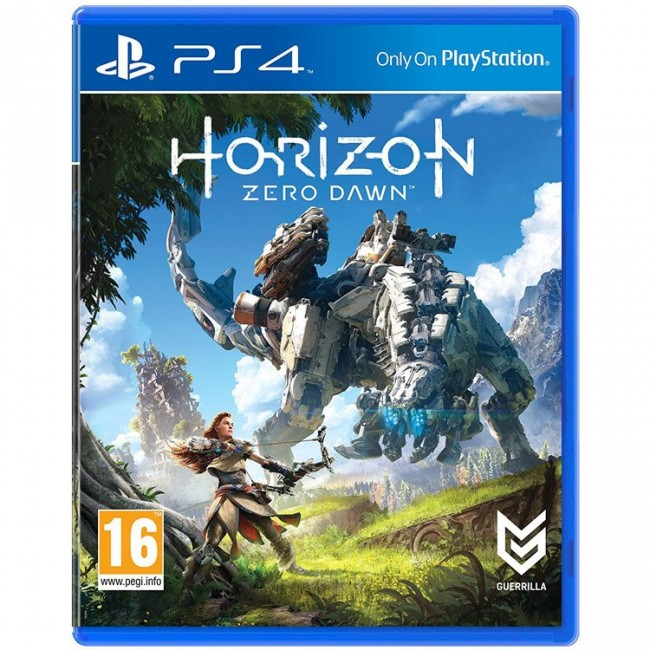 Horizon Zero Dawn - Region 2- PS4