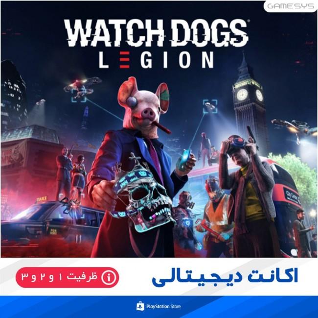 خرید اکانت قانونی بازی Watch Dogs: Legion برای PS4