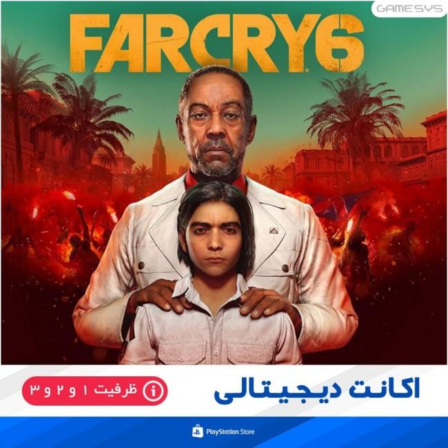خرید اکانت قانونی بازی فارکرای 6 (Far Cry 6) برای PS5 PS4