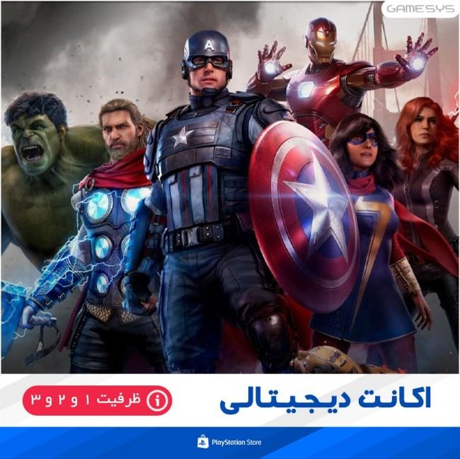 خرید اکانت قانونی بازی مارول اونجرز Marvel's Avengers برای PS4