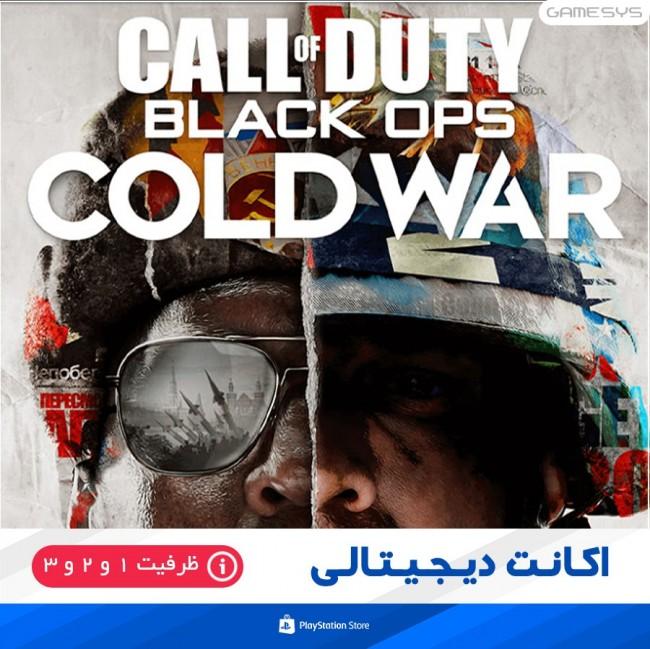 خرید اکانت قانونی بازی Call of Duty: Black Ops Cold War برای PS5|PS4