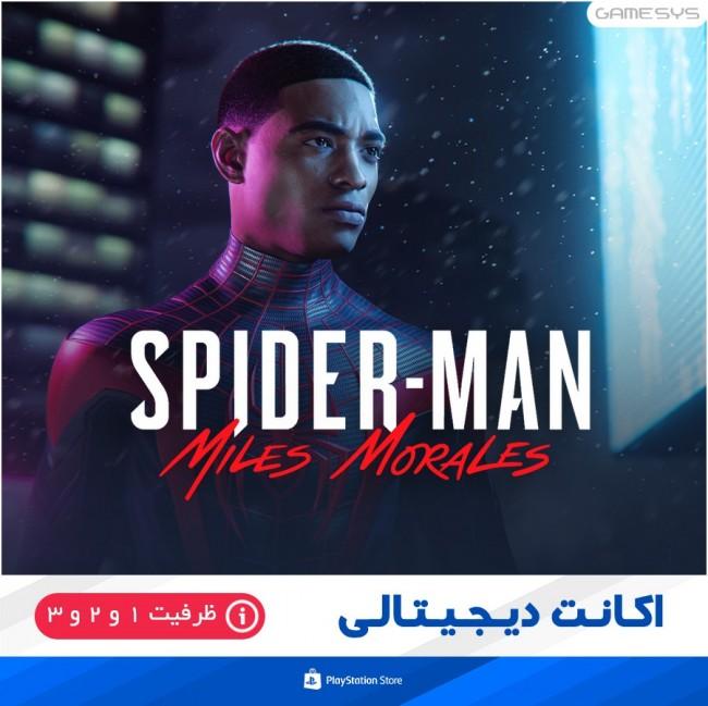 خرید اکانت قانونی بازی Spider-Man: Miles Morales برای PS5|PS4