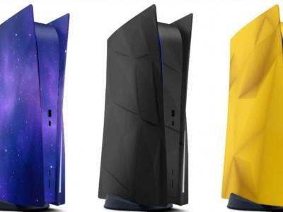 تصویر رندر پلی استیشن 5 در رنگ های مختلف
