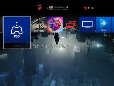 انتشار برنامه  Remote Play برای پلی استیشن 4