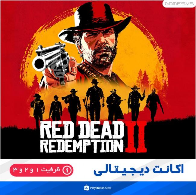 خرید اکانت قانونی بازی Red Dead Redemption 2 برای PS4