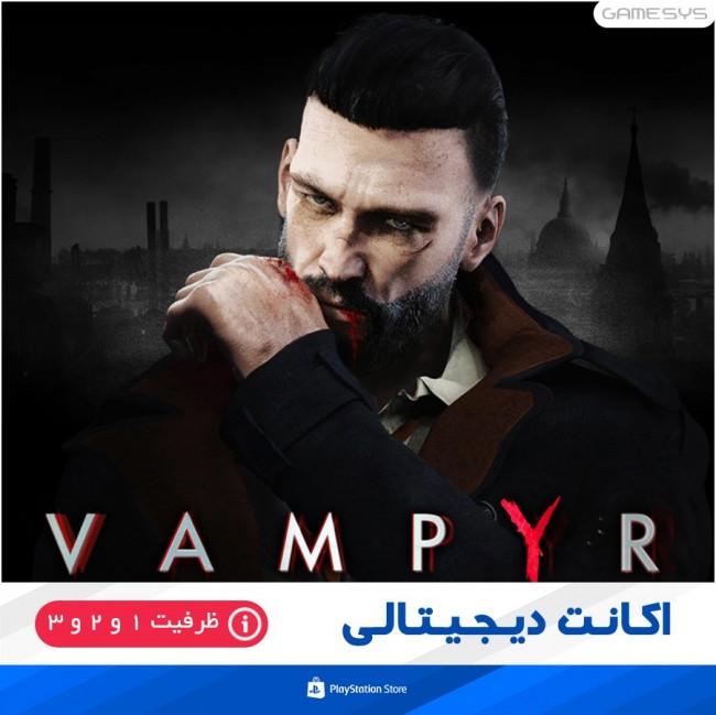 خرید اکانت قانونی بازی Vampyr برای PS4