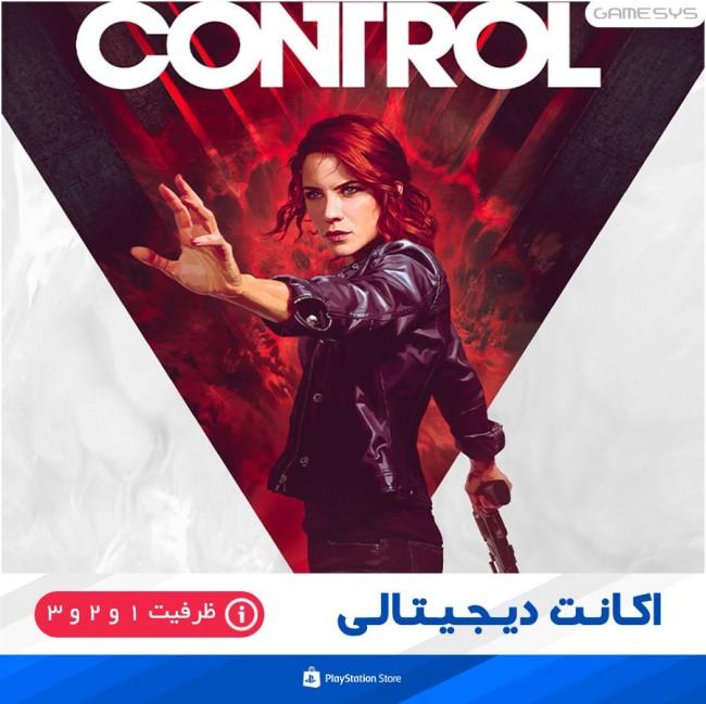 خرید اکانت قانونی بازی کنترل Control برای PS4