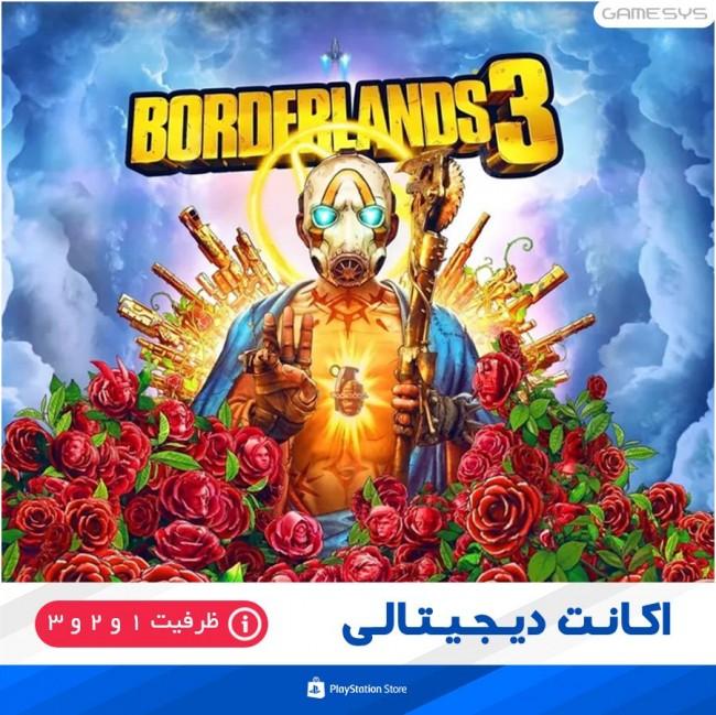 خرید اکانت قانونی بازی Borderlands 3 برای PS4
