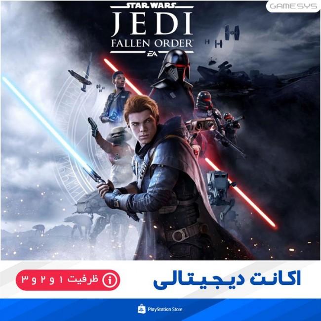 خرید اکانت قانونی بازی STAR WARS Jedi: Fallen Order برای PS4