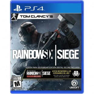 Rainbow Six Siege Deluxe Edition - PS4