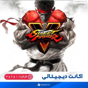 خرید اکانت قانونی بازی استریت فایتر Street Fighter V