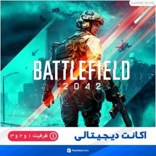 خرید اکانت قانونی بازی battlefield 2042 (بتل فیلد 2042) برای PS5|PS4