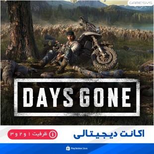خرید اکانت ظرفیتی بازی دیزگان Days Gone برای PS5|PS4