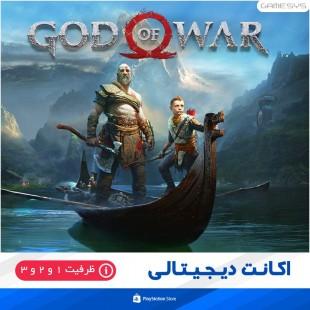 خرید اکانت قانونی بازی GOD OF WAR برای PS5|PS4