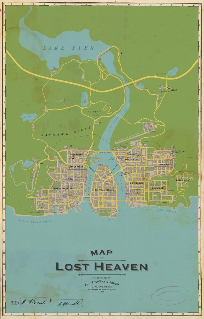 انتشار تصویر نقشه بازی Mafia: Definitive Edition