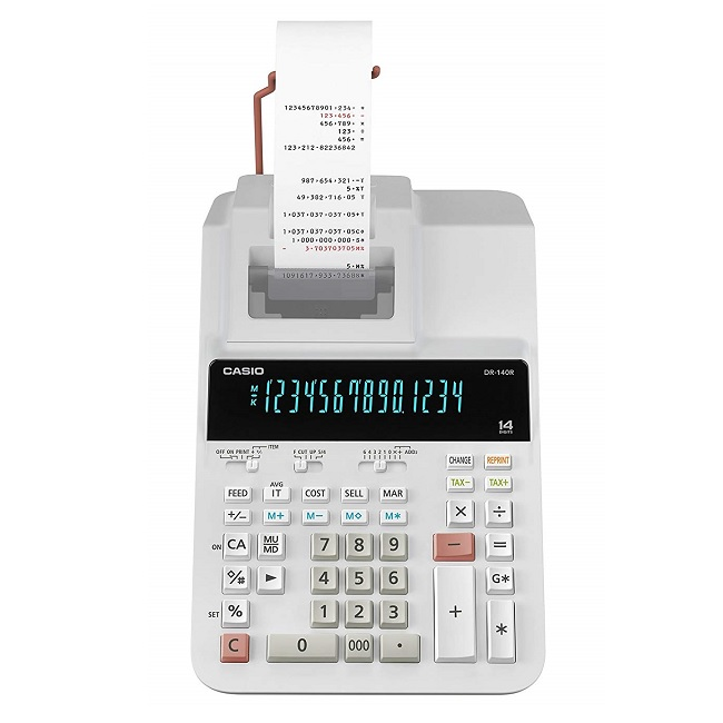 ماشین حساب کاسیو DR-140R