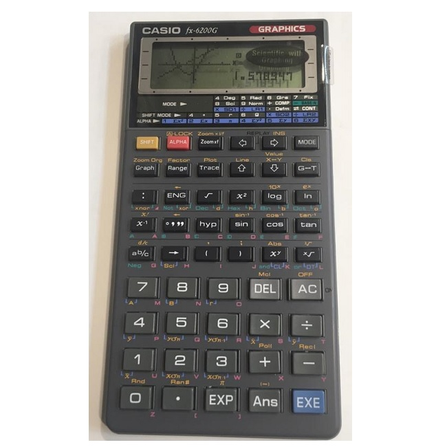 ماشین حساب کاسیو FX-6200G